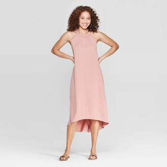 A New Day Women's Relaxed Fit Sleeveless Crewneck Maxi Dress