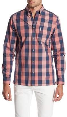 Ben Sherman Buffalo Check Long Sleeve Regular Fit Shirt