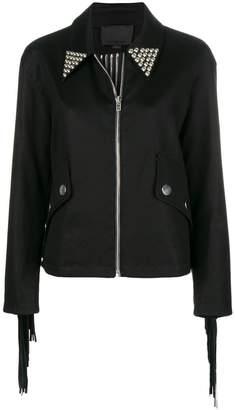Alexander Wang studded zip jacket