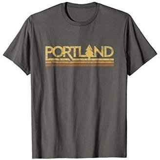 Retro Vintage Portland Oregon T-Shirt