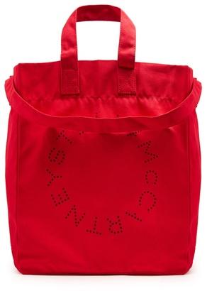 Cotton-canvas beach bag