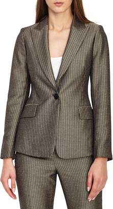 Reiss Zen Shiny Foulard Jacket