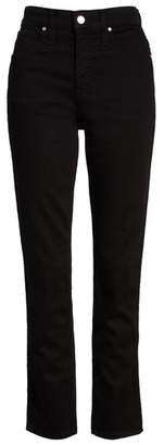Caslon High Waist Slim Straight Jeans