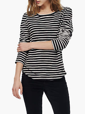 Brora Textured Stripe Top