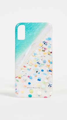 Gray Malin Neon Umbrella iPhone X Case