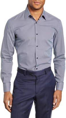 BOSS Slim Fit Print Dress Shirt