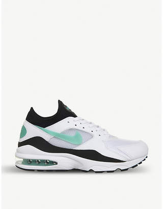 Nike 93 leather trainers