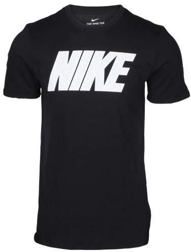 Nike Men's Dri-Fit Block Training T-Shirt-Black-Medium