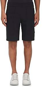 Aztech Mountain Men's Lost Man Tech-Fabric Hiking Shorts-Black