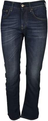 7 For All Mankind Faded Jeans