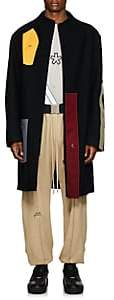 A-Cold-Wall* Men's Wool-Blend Melton Coat - Black