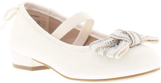 Stuart Weitzman Toddler Girl Miss Bolshoibow-t Dress Shoe