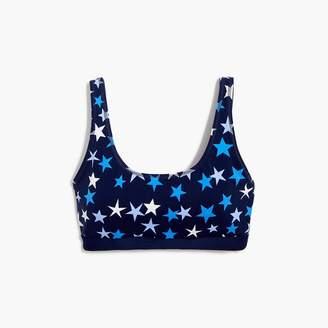 J.Crew New Balance® for performance scoopneck sports bra in stars