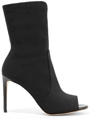 Stuart Weitzman Hugger Stretch-knit Sock Boots - Black