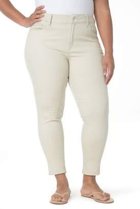 NYDJ Alex Roll Cuff Ankle Pants (Plus Size)