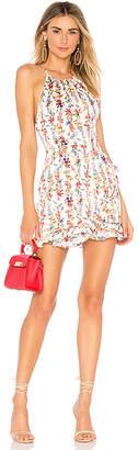 superdown Ciara Floral Ruffle Dress