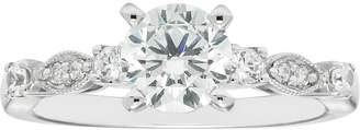 Boston Bay Diamonds 14k White Gold 1 1/5 Carat T.W. IGL Certified Diamond Engagement Ring