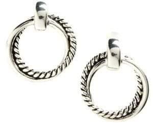 Ralph Lauren Twisted Link Doorknocker Earrings