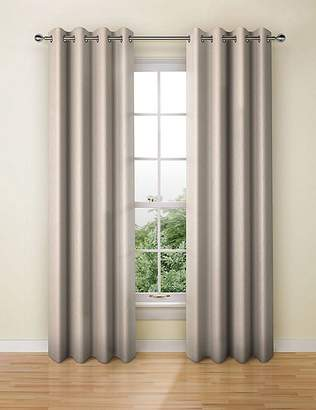 Marks and Spencer Textural Stripe Eyelet Curtains
