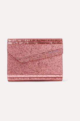 Jimmy Choo Candy Glittered Acrylic Clutch - Pink
