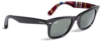 Brooks Brothers Ray-Ban Wayfarer Sunglasses with Madras