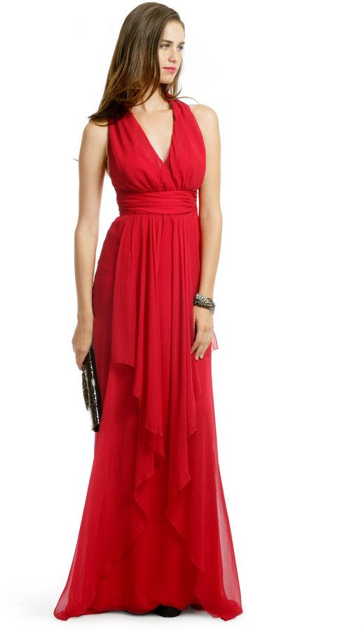 Nicole Miller Hopelessly in Love Gown