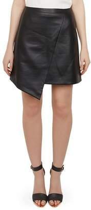 Ted Baker Oolive Faux Leather Skirt