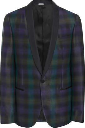 Lanvin M'O Exclusive Shawl Collar Wool-Blend Dinner Jacket