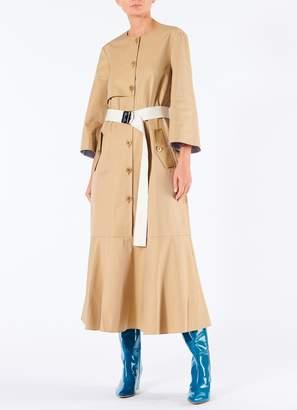 Tibi Finn Twill Trench Dress