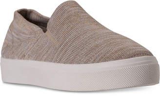 Skechers Women's Street Poppy Blurred Lines Slip-On Casual Sneakers from Finish Line