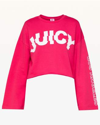 Juicy Couture JXJC Spliced XL Logo Terry Pullover