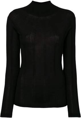 Blumarine roll neck sweater