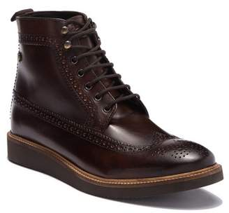 Base London Nebula Wingtip Leather Boot