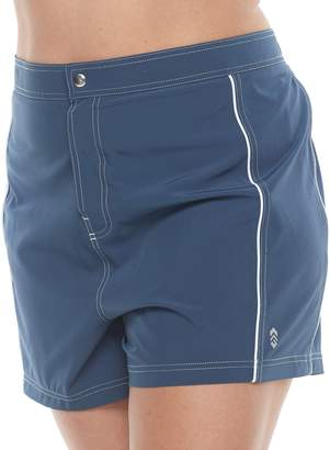 Free Country Plus Size Woven Swim Shorts