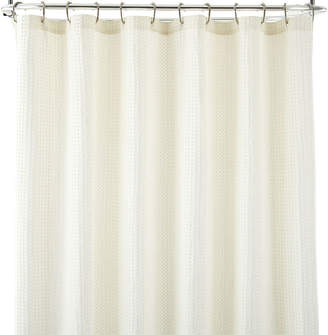 JCPenney JCP HOME HomeTM Parker Waffle Shower Curtain