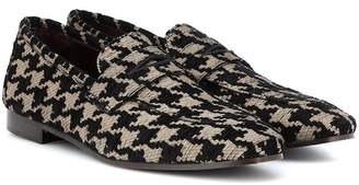 Bougeotte Classic tweed loafers