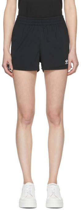 Black 3-stripe Shorts