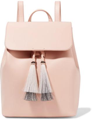 Loeffler Randall Tassel-trimmed Leather Backpack - Blush