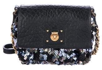 Marc Jacobs Embellished Leather Crossbody Bag
