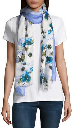 Liz Claiborne Pashmina Floral Scarf