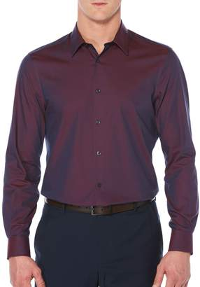 Perry Ellis Big & Tall Luxury Twill Sport Shirt