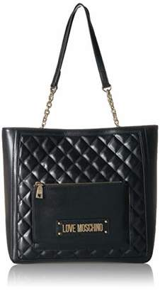aa44e51428b Love Moschino Borsa Quilted Nappa Pu, Women's Cross-Body Bag,11x29x35 cm (