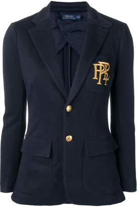 Polo Ralph Lauren logo embroidered jacket