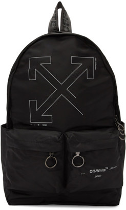 Off-White Off White Black Unfinished Backpack