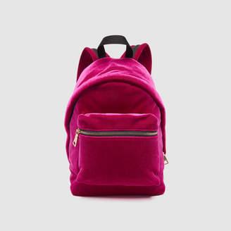 Sandro Velvet backpack, small model
