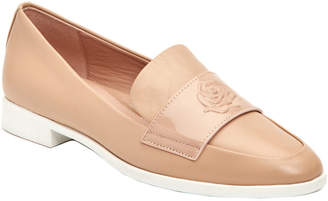 Taryn Rose Blossom Leather Patent Loafer