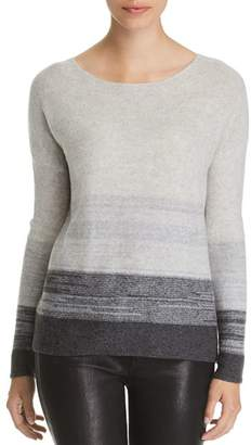Bloomingdale's C by Marled Color-Block Cashmere Sweater - 100% Exclusive