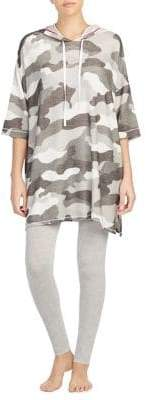 DKNY Camouflage Hooded Tee