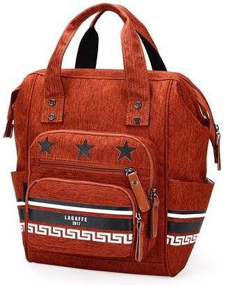 LAGAFFE Large Capacity Waterproof Nylon Backpack, Handbag, Shoulder bag for Girl Woman Mummy GG0226