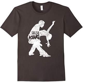 Salsa Dance Dancer Gifts Dancing King Instructor T-Shirt